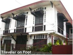 Luna House, Malabon: Built in the 1910s, the Luna House in flood-stricken Malabon maintains its beauty including the metal cutwork awnings and fancy grillwork in the ventanillas.