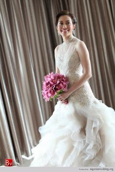 Nigerian Wedding: Exquisite Wedding Gowns With Excellent Craftmanship By Veluz Reyez |