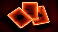Hallowen Playing Cards – 1080p HD Wallpaper for Desktop