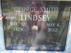 """Fondly remembered for playing Goober Pyle in the TV series """"The Andy Griffith Show"""" to and """"Mayberry R."""" to Oak Hill Cemetery Jasper Walker County Alabama USA Cemetery Monuments, Cemetery Statues, Cemetery Headstones, Old Cemeteries, Graveyards, Famous Tombstones, The Andy Griffith Show, Famous Graves, Celebrity Deaths"""