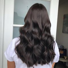 Black Coffee Hair With Ombre Highlights - 10 Cool Ideas of Coffee Brown Hair Color - The Trending Hairstyle Golden Brown Hair, Light Brown Hair, Black Brown Hair, Dark Brown Hair Rich, Black Hair Korean, Deep Brown, Coffee Brown Hair, Coffee Hair Color, Medium Hair Styles