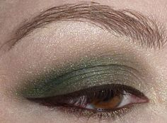 Dior fall 2012 collection colours inspired eye makeup, including Ben Nye Juniper