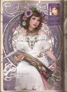 Gothic and Lolita Bible x Mucha