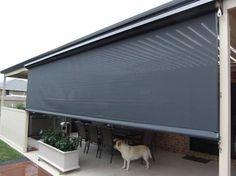 Image result for external blind on sloping roof