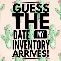 Enter to win FREE LuLaRoe LEGGINGS by guessing the date my inventory arrives. https://www.facebook.com/groups/164269104014256/