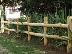 rusztikus akácfa kerítés, kerítéselemek