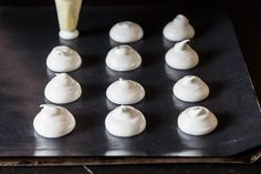 Don't throw away leftover egg whites -- make meringues with whatever you've got, no recipe needed.