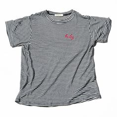 THE BABY TEE - Pinstripe from Elkin Collection
