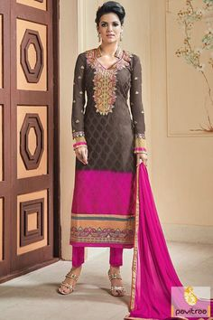 Pakistani #Pantstylesuits #Salwarsuit #PakistaniSuitonline #Straightcutsuit More: http://www.pavitraa.in/catalogs/chiffon-satin-straight-cut-party-wear-suits/?utm_source=hp&utm_medium=pinterestpost&utm_campaign=27Oct Free Shipping + COD Service In India More Details : Call / WhatsApp : +91-75750-33399