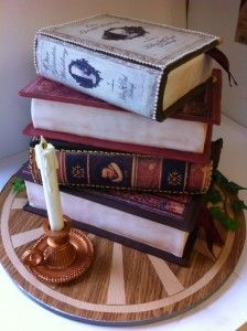 This is actually a cake. Impressive! Boulbys Famous Book Cakes / http://www.boulbys.co.uk