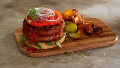 Vegan Recipes   A Delicious Deconstruction Burger   Veganuary 2015
