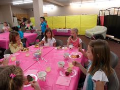 Tween Tea Party Was Held At Toy Station School Crossing It Great To
