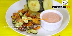 Chips di verdure con ketchup fatto in casa ricetta Junk Good | Cucina in tv
