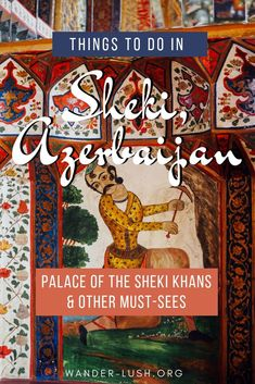 Fall in love with Sheki, Azerbaijan's Silk Road gem. Amazing Destinations, Travel Destinations, Travel Europe, Azerbaijan Travel, Travel Guides, Travel Tips, Silk Road, China Travel, Blog Voyage