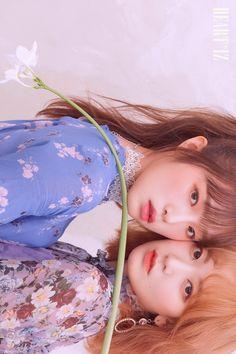 IZ*ONE (#아이즈원) - 2nd Mini Album [HEART*IZ] OFFICIAL PHOTO Violeta ver. UNIT CUT  #IZONE #アイズワン  #HEARTIZ #20190401_6PM Sakura Miyawaki, Yu Jin, Japanese Girl Group, Kim Min, I Love Girls, 3 In One, First Baby, The Wiz, Ulzzang Girl