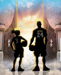 Legends Never Die! 😞😢 So Sad my condolence to this precious family 🙏🏼🙏🏼🙏🏼 Rest In Peace. A Kobe and Gigi tribute Lakers Kobe Bryant, Kobe Bryant 24, Mvp Basketball, Basketball Cupcakes, Basketball Decorations, Basketball Videos, Basketball Quotes, Basketball Shirts, Marshmello Wallpapers