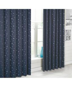 Perfect curtains for Sophia's Star Wars room :-)