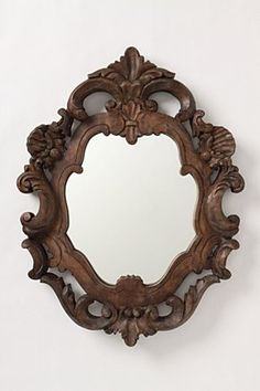anthropologie, Organic Rococo Mirror