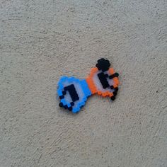 Portal Hair Bow or Bow Tie by BurritoPrincess on Etsy