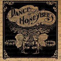 Dance of the honey bees digital download sheet transfer.