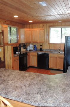 The enlarged kitchen has a breakfast bar and is open to the huge great room and dining room. 2388 Kitzbuhl Point Dr. http://www.innsbrook-properties.com/property/mo/innsbrook/63390/innsbrook/2388-kitzbuhl-point-drive/541050b3960df943940001e1/