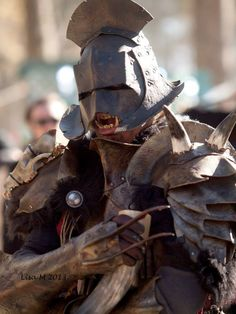 Uruk-Hai! - cosplay by Red Dragon Lord (at Carolina Rennaissance Festival - 2013)