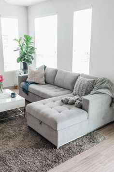 decor living room style Couches Living Room, Comfortable Sofa, Living Room Decor Apartment, Trendy Living Rooms, Comfortable Sofa Bed, Farm House Living Room, Living Room Grey, Sofa Design, Living Room Designs