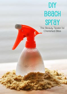 This DIY Beach Spray contains health benefits for your hair along with the warm, summery scent of banana coconut.