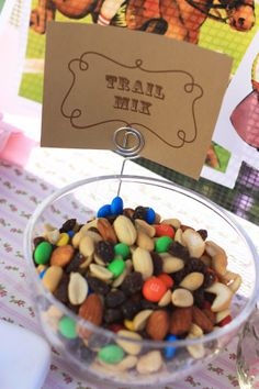 The Larson Lingo: Claire's Cowgirl Party, Trail Mix