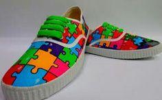 Zapatillas puzzle