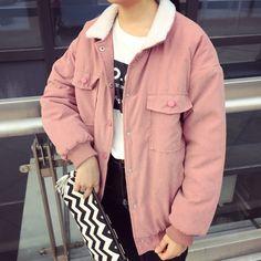 pink outwear