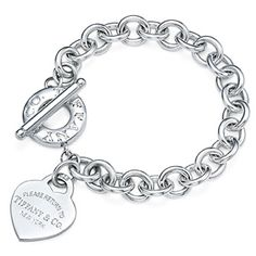 Tiffany and co Bracelets Ruturn to Heart tag toggle