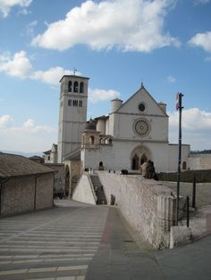 Basilica of St. Francis of Assisi, Italy - one of the MANY duomo's I saw and toured on my trip. iPhone pic