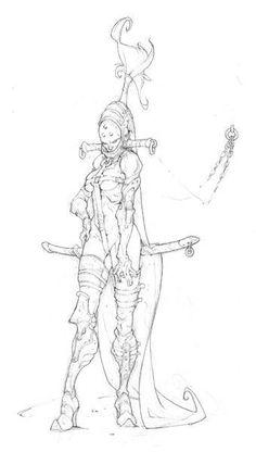 Rackham - The Art of Edouard Guiton Character Concept, Character Art, Concept Art, Cool Sketches, Drawing Sketches, Drawings, Character Illustration, Illustration Art, Reference Manga