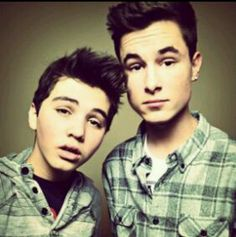 Sam Pottorff and Kian Lawley. Two out of million YouTubers, just awesomer.