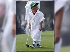 Tiger Woods' request to son Charlie: Don't touch these putters