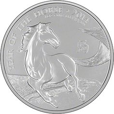 2014 Royal Mint Lunar Horse Coin