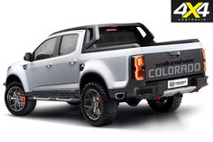 Walkinshaw reveals that a twin-turbo petrol Colorado is in the works, the Wildfire is set to shake up the industry competing against the new Ford Ranger Raptor. 2015 Chevy Colorado, Holden Colorado, Chevrolet Colorado, S10 Truck, Chevy Trucks, Pickup Trucks, The New Ford Ranger, Custom Ford Ranger, Ford Ranger Raptor