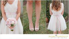 sweetest pink bridesmaids