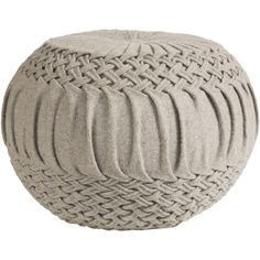 Kick up your feet on our stylish, bohemian and comfortable Earnest Pouf. Place in front of an arm chair or by your coffee table to have on hand for extra seating to host guests.