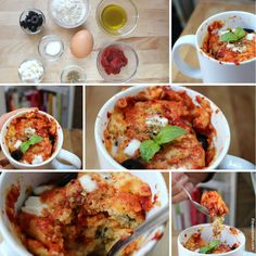 Pizza Mug Cake | 23 Dorm Room Meals You Can Make In A Microwave
