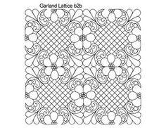 AnneBright.com - Shop | Category: Digitized Designs | Product: Garland Lattice b2b