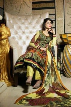 Yashfeen Chiffon Lawn Spring Summer Dresses Collection 2014  (6)