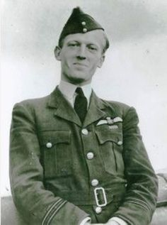"""F/L Gordon L Sinclair flew as A Flight leader with No 310 Squadron RAF, whose Czechoslovakian pilots the 24-year-old pilot described as """"brilliant but uncontrollable"""". Injuring his leg while landing near Coulsdon after bailing out on 9 September 1940, he was greeted by an old school friend, who took him to the Irish Guards officers mess at Caterham, but improperly dressed, wearing his flying overalls over a pair of pyjamas, he was not allowed to dine."""