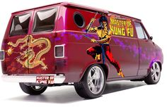 Superheroes on 70s Vans-Shang-Chi: The Master of Kung-Fu
