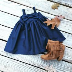 Navy bow dress,girls navy  dress, fall navy bow dress,   flower girls,rustic weddings,Navy big bow dress,newborn coming home outfit, gift by sweetwhitepeony2 on Etsy https://www.etsy.com/listing/245112830/navy-bow-dressgirls-navy-dress-fall-navy