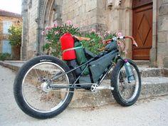 Long-tailed fat bike