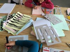 School is cool Love Design, Organic Shapes, Card Making, Collage, Graphic Design, School, Illustration, Inspiration, Art