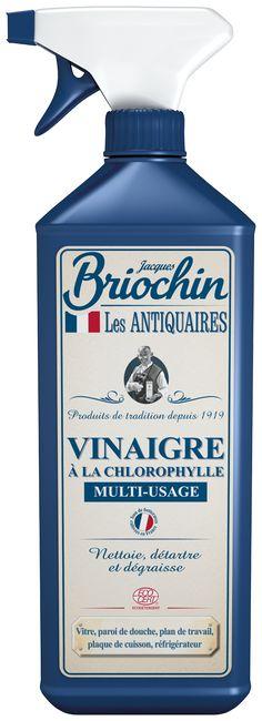 Vinaigre à la Chlorophylle Multi-usage Les Antiquaires par Briochin