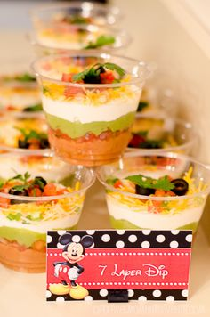 Mickey Mouse 1st Birthday Decor | Food Labels | © Forever Moments Events
